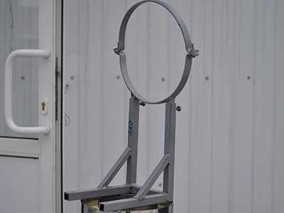 Опора телескопическая для Дымохода
