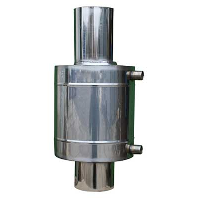 Бак теплообменник 6 л для 150 мм трубы